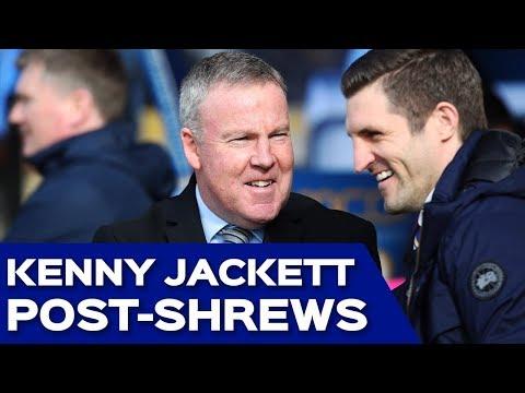 Kenny Jackett post-Shrewsbury Town