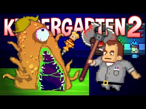 THE PRINCIPAL'S SECRET LAB - Creature Feature Story - Kindergarten 2 ENDING
