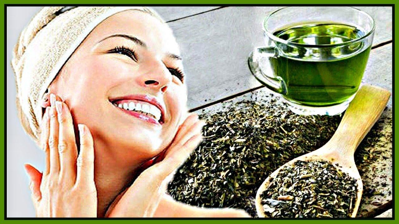 маска с зеленым чаем и какао