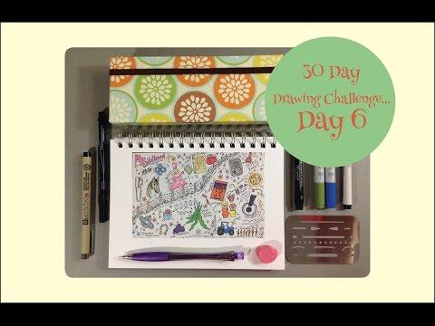 Drawing Challenge Continued
