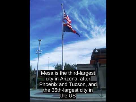 Mesa, Arizona (USA) - Top Facts
