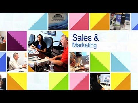 Job Opportunities in Sales & Marketing