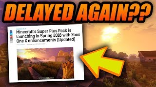 SUPER DUPER GRAPHICS PACK DELAYED EVEN MORE??? - Minecraft Bedrock Super Duper Graphics News!