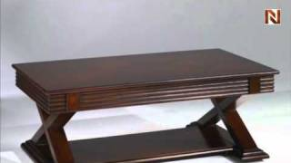 Chesterfield Rectangular Lift-top Cocktail Table T2004102-00 By Hammary Furniture