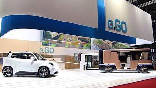 Электромобили от e.GO Mobile – конкурент российской Zetta   MeGoElectric RU / Видео