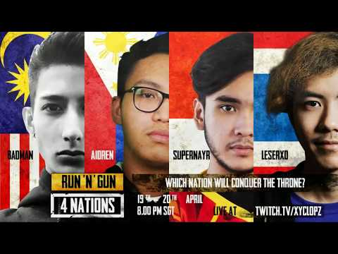 LAGI2 DOU TEAM AEROWOLF MEMPERBUTKAN CHICKEN DINNER |  RUN N' GUN 4 NATIONS  | PUBG By Xyclopz DAY2