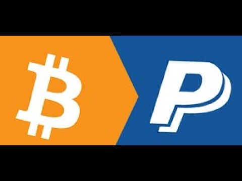 How to turn Bitcoins into PayPal money.