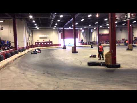 Motorama Go Kart Crash 2014