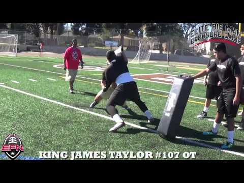 King James Taylor 2015 West Coast Elite Camp Highlights