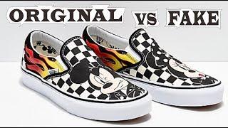 Vans x Disney Classic Slip-On Mickey