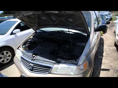 Pacific Auto Auction Honda 2001 Odyssey