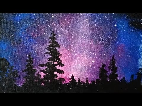 Пишем звездное небо