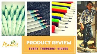 RECYCLED PAPER PRODUCTS - PLANTCIL review - newspaper pencils, plantable products.