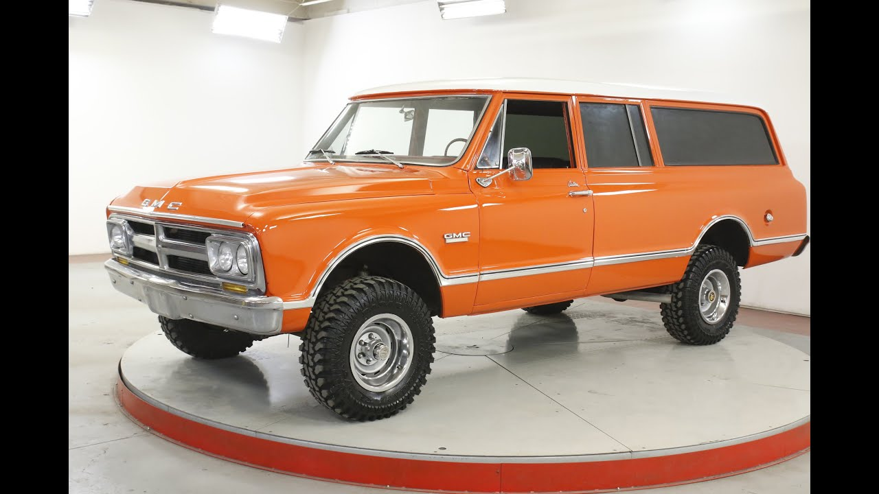 1968 Gmc Suburban 4x4