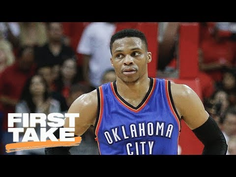 Thumbnail: Russell Westbrook Cannot Win Title With Thunder | First Take | June 27, 2017