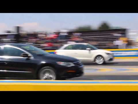 Audi A1 vs Passat CC 2do Jale   Arrancones Pegaso Febrero 2018