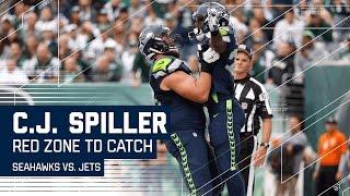 Jimmy Graham & Doug Baldwin Set Up TD to C.J. Spiller | Seahawks vs. Jets | NFL