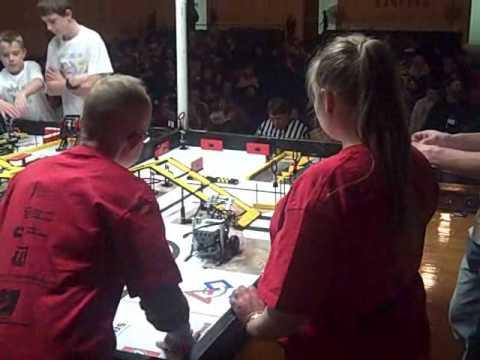 Courage Center Robotics Team Lightening - December 2009.wmv