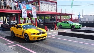 Mustang Madness 2016   Parte 2 Drag Racing
