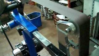 Levigatrice A Nastro Home Made Belt Grinder