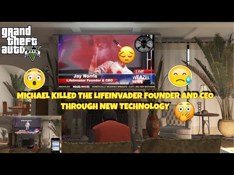 MICHAEL KILLED THE LIFEINVANDER FOUNDER AND CEO USING UNIQUE TECHNOLOGY
