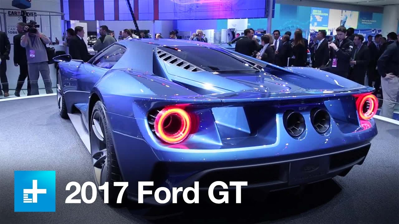Ford Gt Supercar Youtube