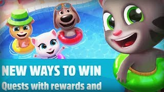 Talking Tom Pool - Outfit7 Limited Level 56-58 Walkthrough