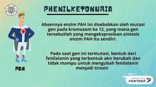 Fenilketonuria adalah gangguan metabolisme kongenital yang ditandai dengan penumpukan fenilalanin ak.