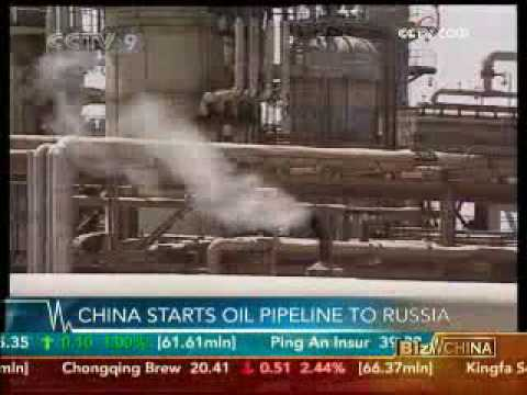 China starts oil pipeline to Russia - 18 May 09