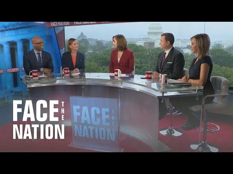 Face The Nation: Michael Morell, William Burns,  Susan Davis, Jamal Simmons, Michael Steel, Paula…