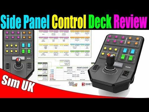 Logitech Saitek Side Panel Control Deck Unboxing An