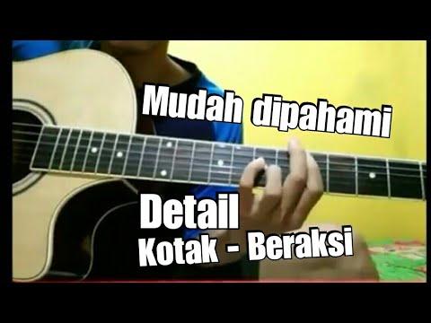 Tutorial Melodi  KOTAK- Beraksi Detail