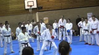 Junior Le Fevre - sport kumite drill #3 - ashi barai