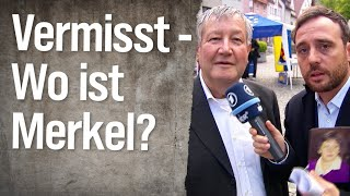 Vermisst – Wo ist Angela Merkel?