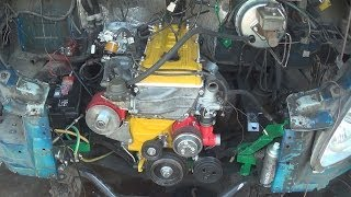 видео Блок цилиндров и поршневая двигателя ЗМЗ-406
