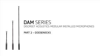 AKG DAM Series Training Part 2/4: Goosenecks