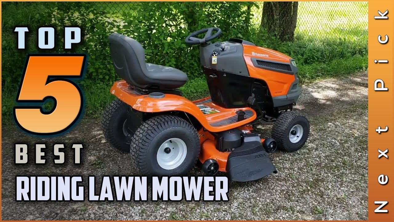Top 5 Best Riding Lawn Mower Review In 2021 Youtube