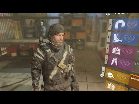 The Division: Patch 1.7 - Striker Vanity Set