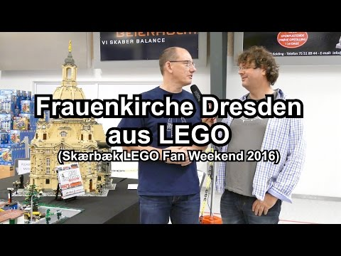 LEGO Frauenkirche Dresden (Interview Skaerbaek 2016 Fan Weekend)