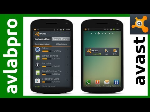 AVAST Mobile Security And Anti-Teft For Android - Install And Settings