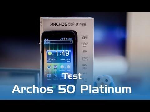 Archos 50 Platinum im Test (Deutsch)