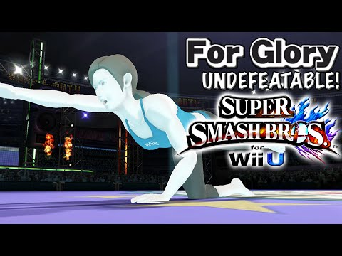 0 to Death  | Undefeatable! ~ Wii Fit Trainer Ep. 15 - Super Smash Bros Wii U (For Glory)