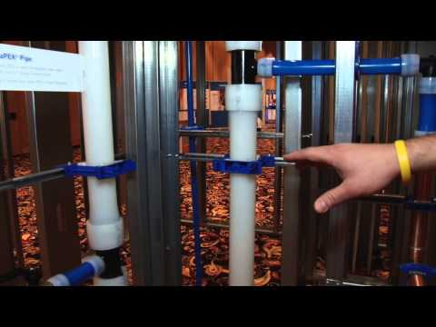 Uponor PEX Riser Applications for Commercial Plumbing Systems