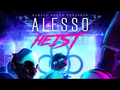 Payday 2 - Alesso Heist Trailer