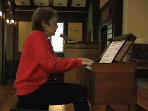 Artis Wodehouse plays Moussorgski on an 1889 Antique Pump Organ