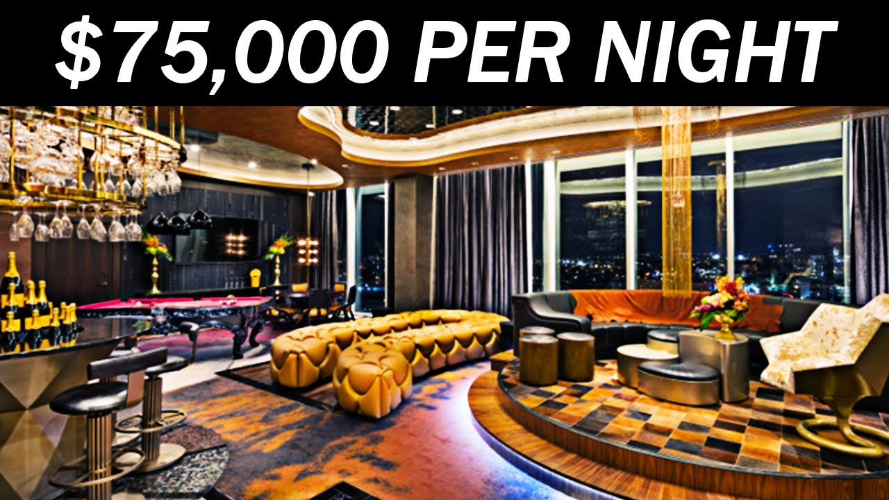 The Most Expensive Hotel Room In The World Youtube