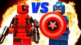 Video Lego Deadpool vs Captain America download MP3, 3GP, MP4, WEBM, AVI, FLV Maret 2017
