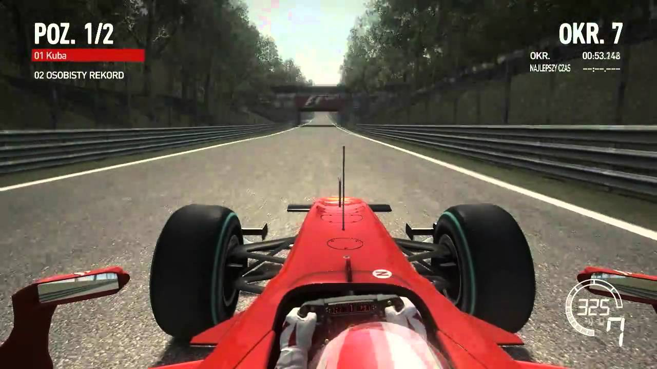 F1 2010 - Ferrari - Monza - YouTube