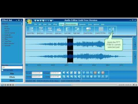 Audio Editor Gold --- New Features