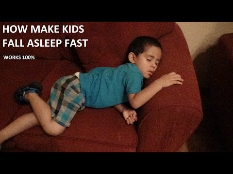 How to make a kid fall asleep faster